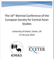 Dr. Sergiusz Bober presents on ethnic community recognition in Central Asia at the ESCAS Conference in Exeter, UK